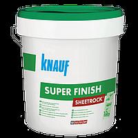 Sheetrock Super Finish Шпаклевка финишная готовая KNAUF (Кнауф) Шитрок Супер Финиш 28 кг
