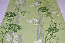Обои, бумажные, цветы,зеленый, Милена 1046, 0,53*10м, фото 2