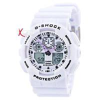 """Мужские спортивные часы """"Casio G-Shock GA-100 White""""."""