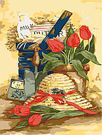 Раскраска по номерам Идейка Дачный натюрморт (KH2215) 35 х 50 см