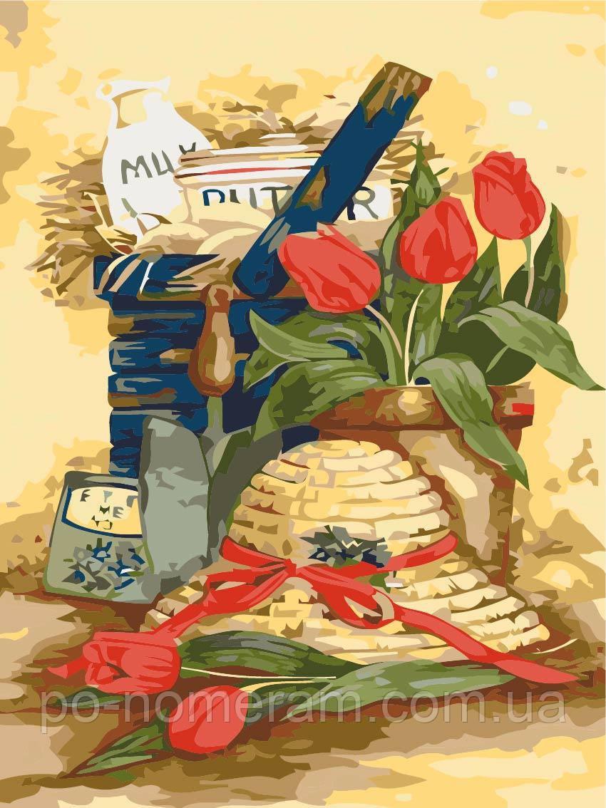 Раскраска по номерам Идейка Дачный натюрморт (KH2215) 35 х ...