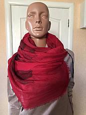 Шарф женский бордовый весна-осень Lafeny, фото 2