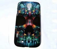 "Чехол накладка ""Череп"" Samsung Galaxy S4 / i9500 +пленка!"