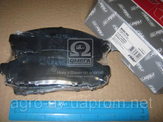 Колодка торм.(RD.3323.DB3435) диск. MITSUBISHI L200 07- передн. (RIDER)