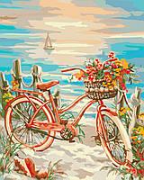 Картина по номерам без коробки Идейка Утренняя прогулка (KHO2717) 40 х 50 см