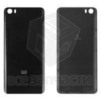 Задняя крышка батареи для мобильного телефона Xiaomi Mi5, черная, пластик