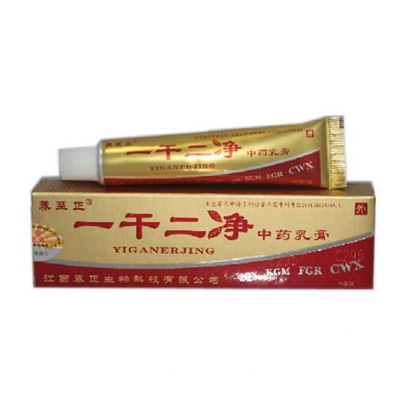 Китайский крем от псориаза Yiganerjing (Иганержинг), цена 399 грн ...