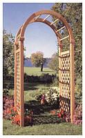 Арка Эдем-3 садовая для вьющих растений деревянная