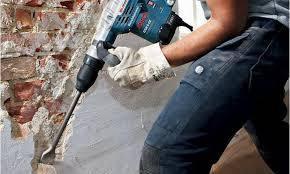 Демонтаж штукатурки стен и потолков