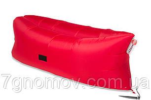 Ламзак, надувной шезлонг-лежак Premium красный, фото 2