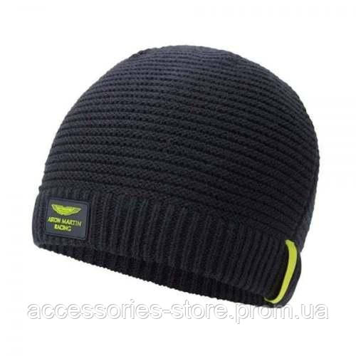 Шапка Aston Martin Racing Knitted Hat 2017, black/yellow
