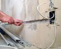 Демонтаж электрической проводки