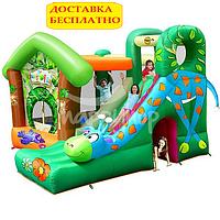 """Детский надувной игровой центр """"Веселый Жираф"""". Домашний."""