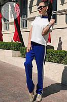 Женский повседневный костюм брюки и футболка, разные цвета