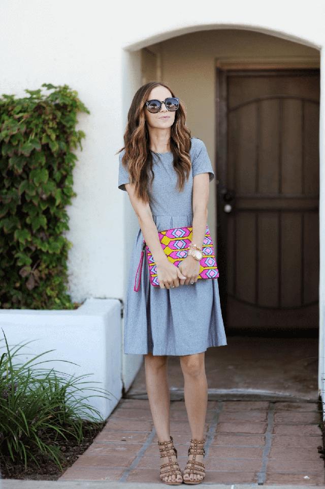 модные платья весна лето 2017 фото