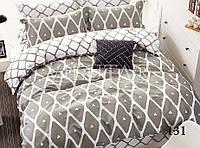Семейный комплект постельного белья сатин-твил 131