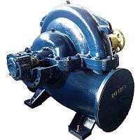 Насос 1Д 1600-90 динамический, двухстороннего входа, центробежный, горизонтальный, одноступенчатый для воды.