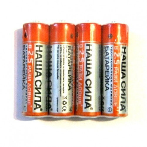 Батарейки НАША СИЛА R03 (C)3 1.5V 1шт