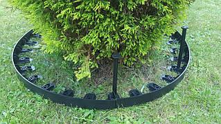 Пластиковый бордюр (окантовка) для газона