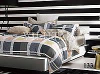 Евро комплект постельного белья сатин-твил 133