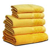 Махровое полотенце МЕЛ ТЕМ, 50х90см, 360г/м2 (жёлтое)