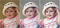 Обработка детских фотографий