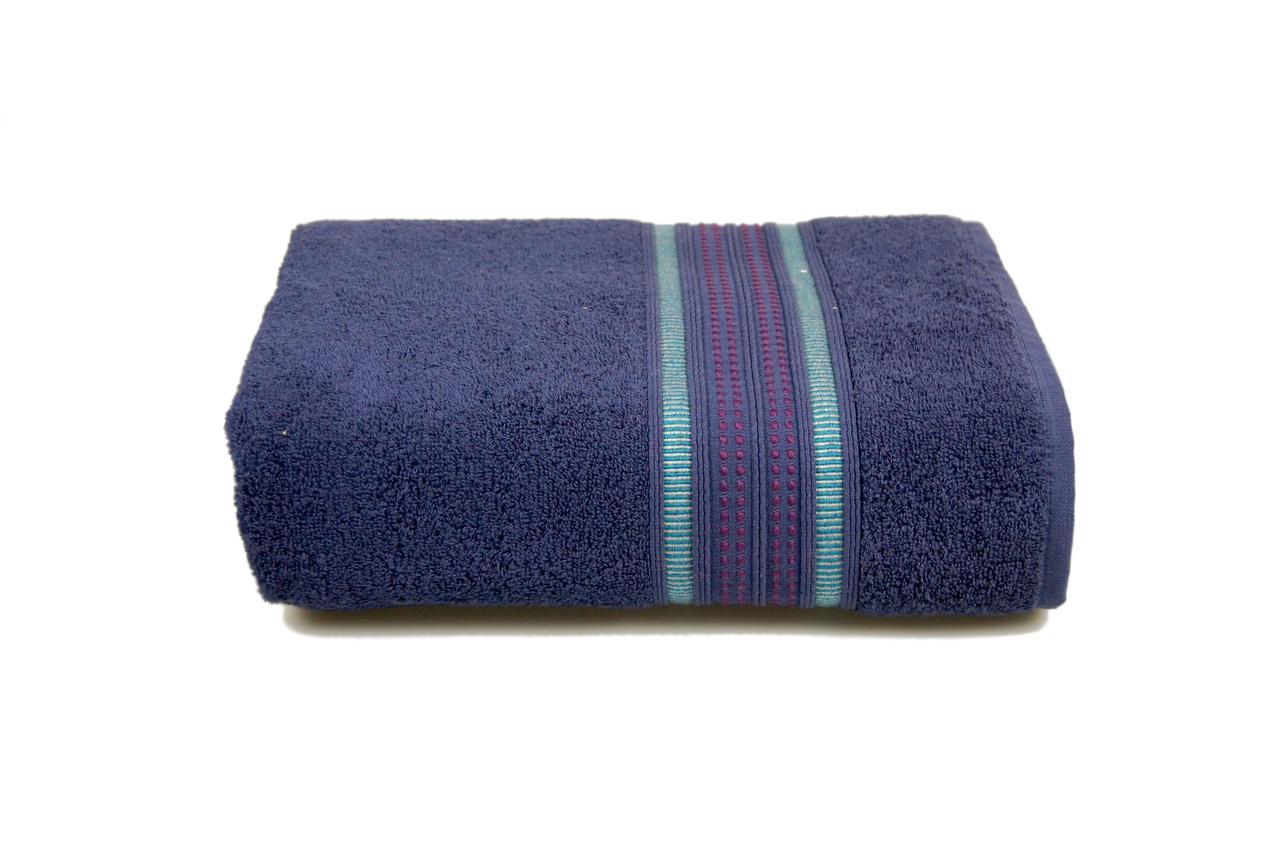 Махровое полотенце MISTERIA (фиолетовое) 70×130см