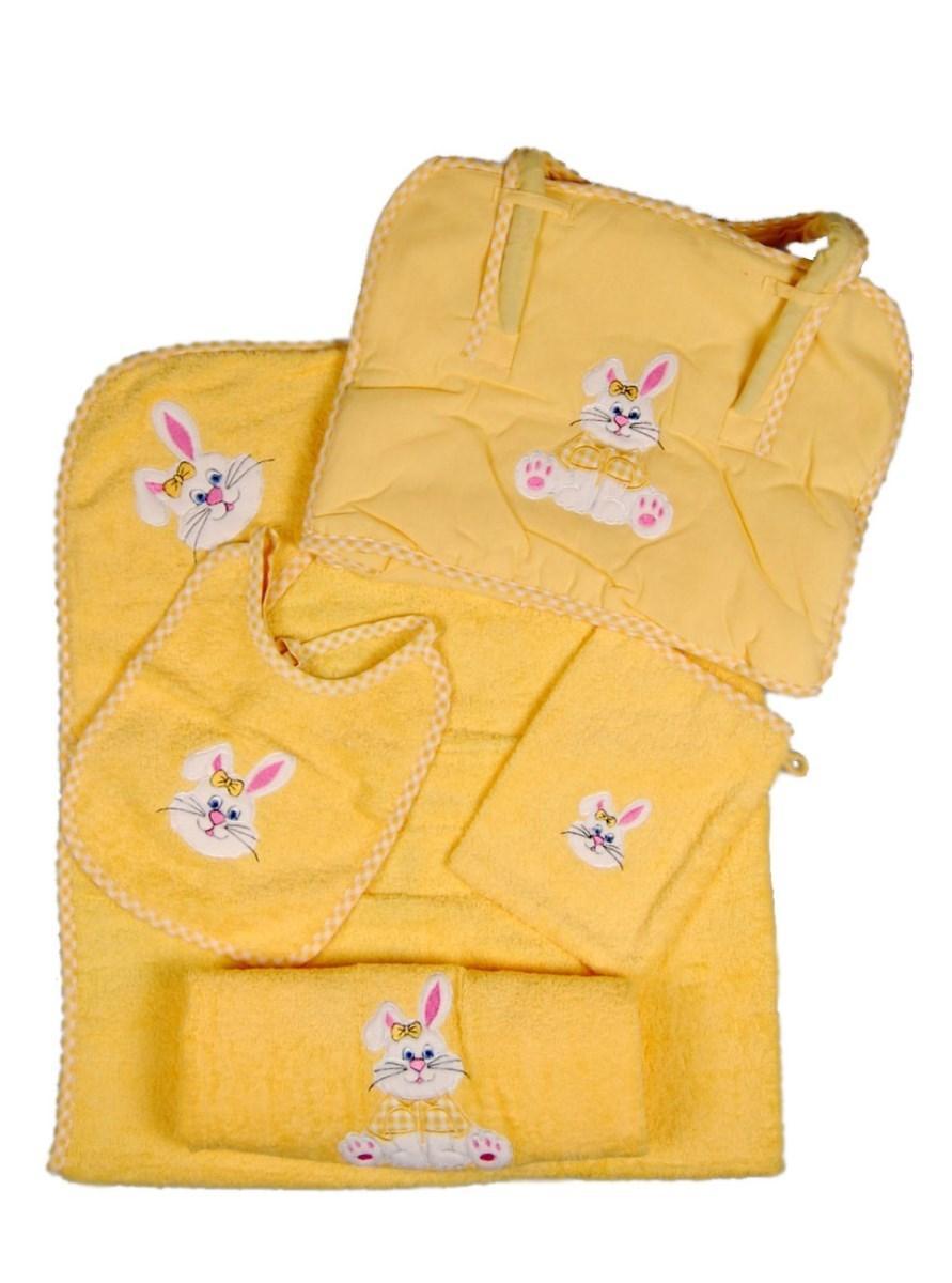 Набір для купання Етеребит бейбі (жовтий)