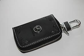 Ключниця для авто Шкіра KeyHolder MERCEDES
