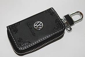 Ключниця для авто Шкіра KeyHolder WOLKSWAGEN