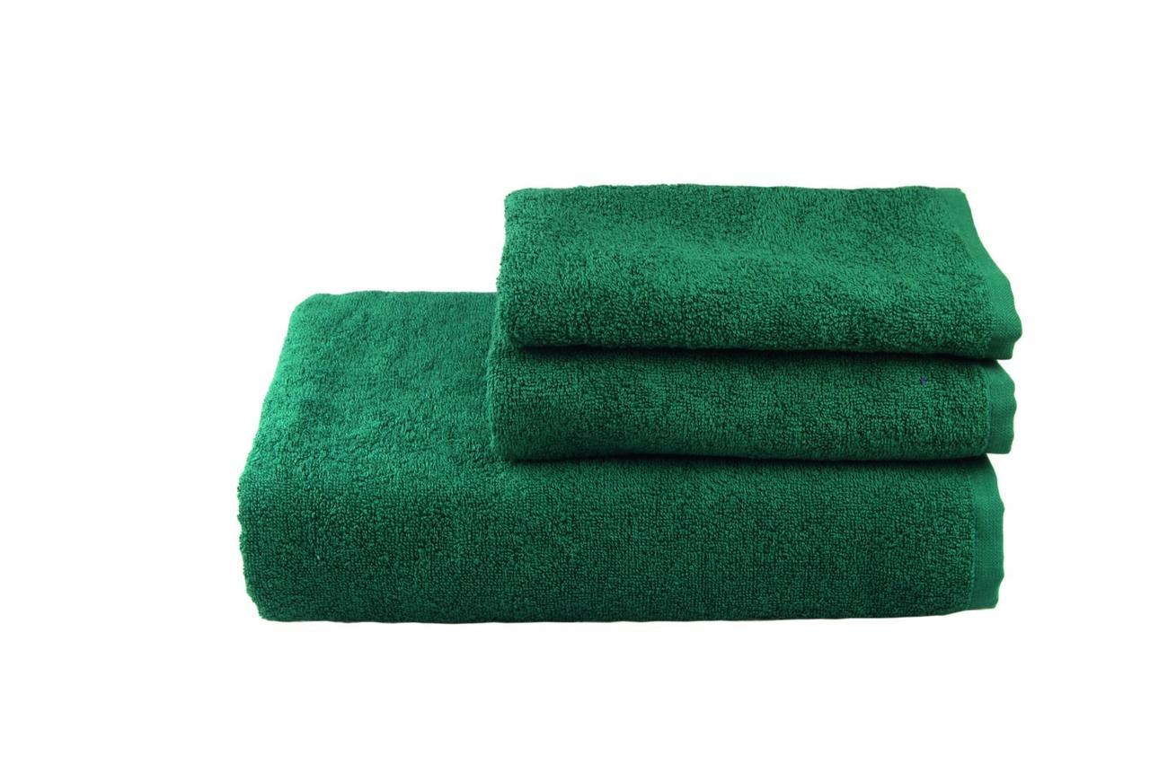 Рушник махровий(зелене), 70х140см