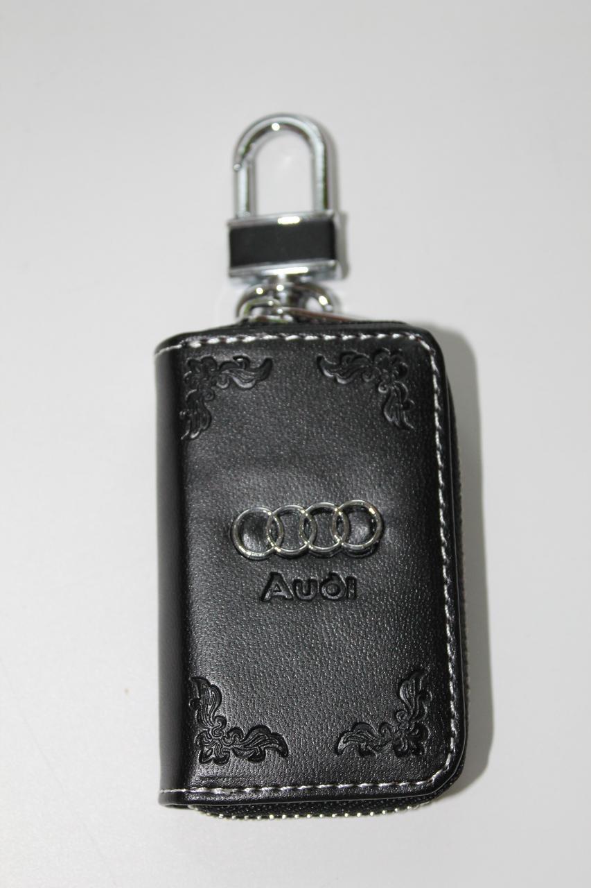 Ключниця для авто Шкіра KeyHolder AUDI
