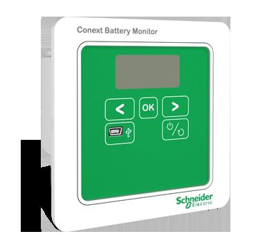 Панель управления Schneider Conext Battery Monitor