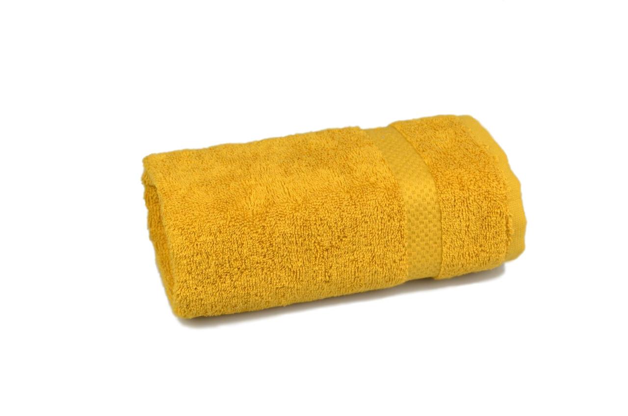 Рушник махровий Soft touch (гірчичне), 50х90 см