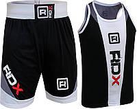 Боксерский комплект RDX black/white XS, фото 1