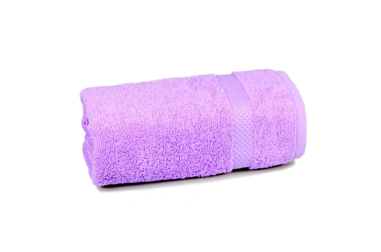 Полотенце махровое Soft touch (сиреневое), 50х90 см