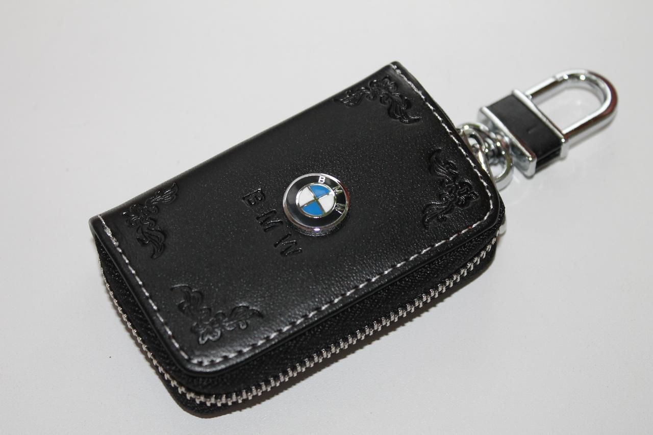 Ключница для авто Кожа KeyHolder BMW