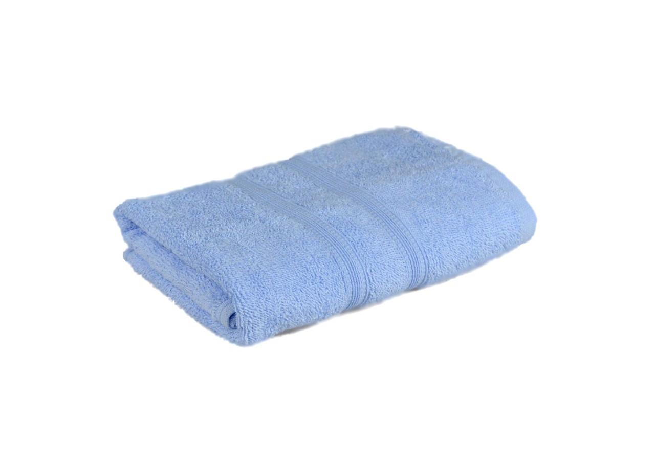 Рушник махровий Індія (блакитне), 35х85 см