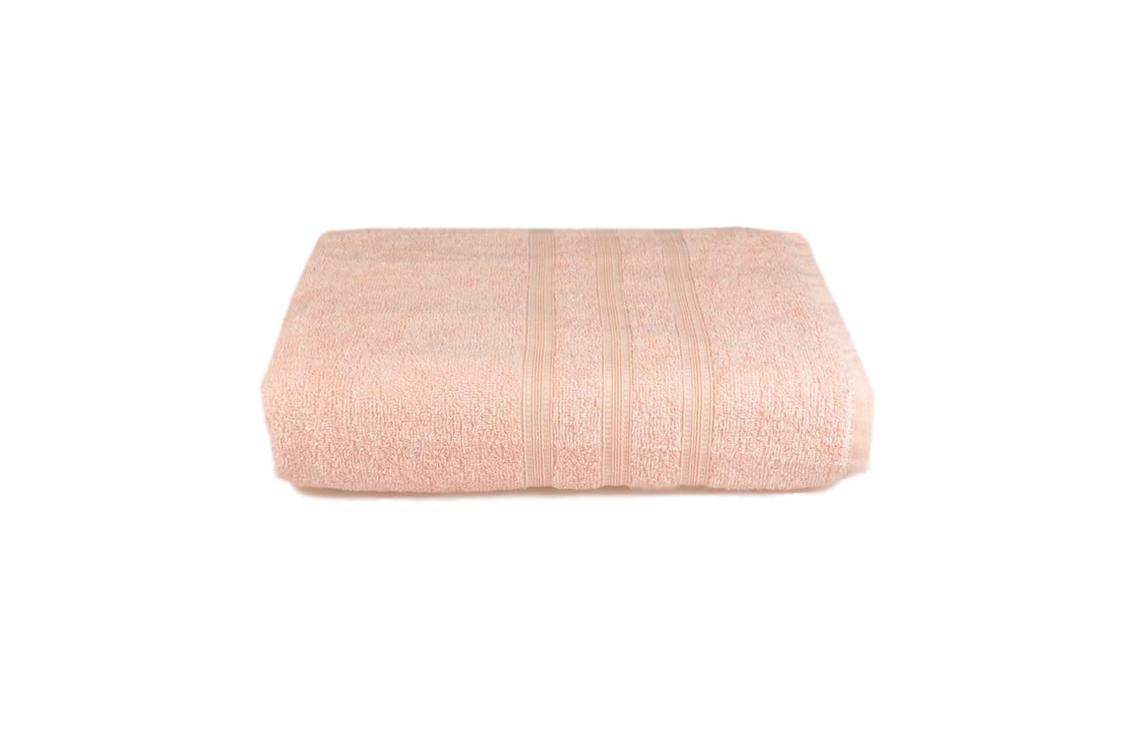 Полотенце махровое Индия (светло-розовое), 68х128 см
