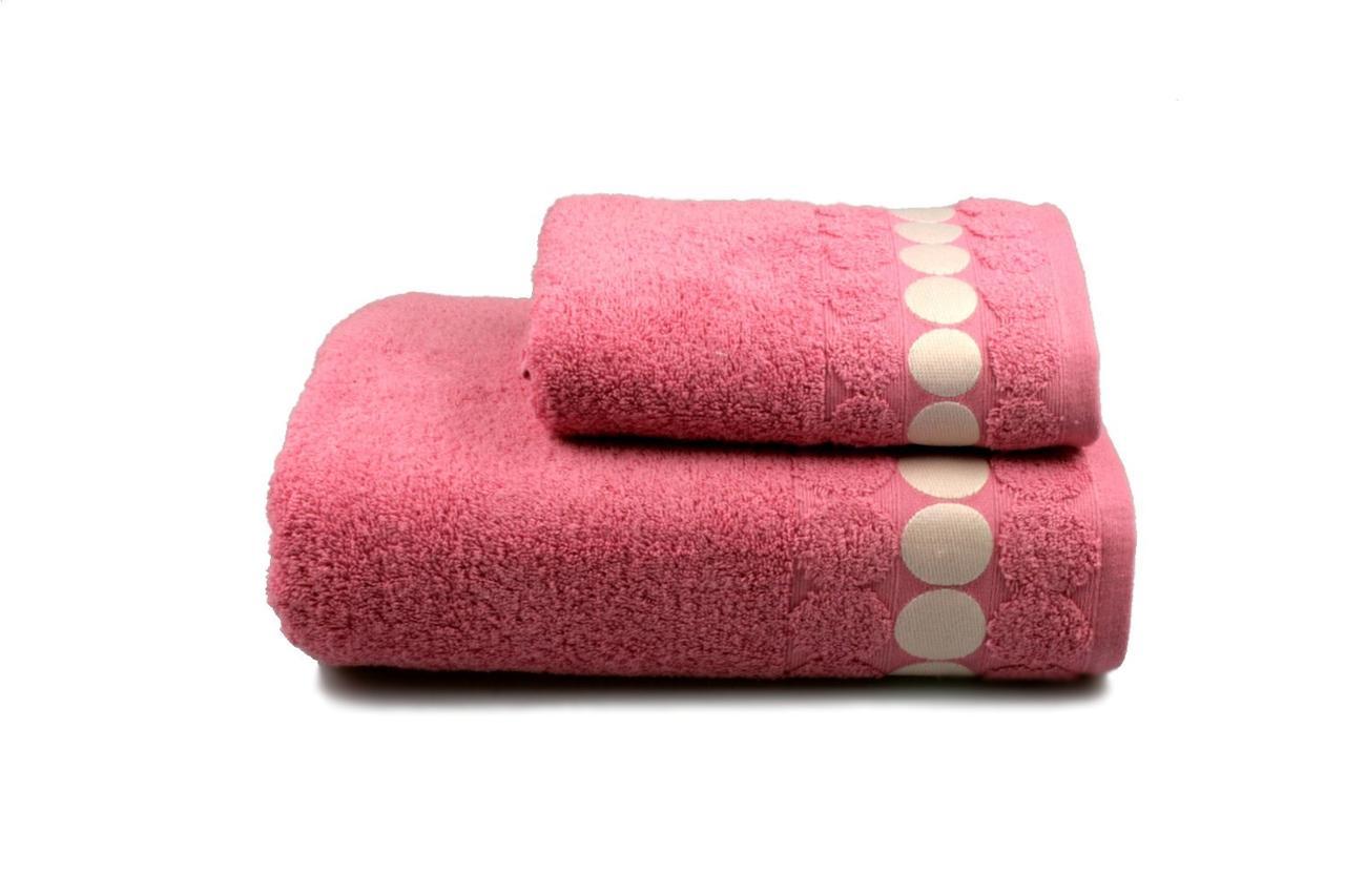 Полотенце махровое Balls (розовое), 50х90см