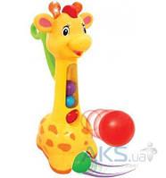 Игрушка Kiddieland Игрушка-каталка Аккуратный жираф (052365)