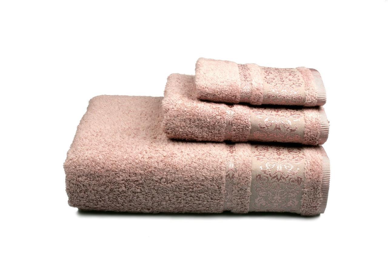 Полотенце махровое Bamboo new (розовое), 30х50см