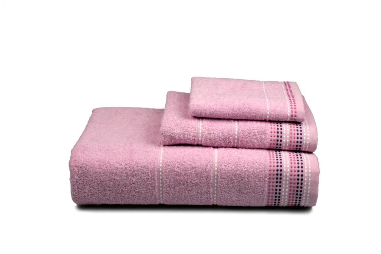 Полотенце махровое Dream (розовое), 50х90см