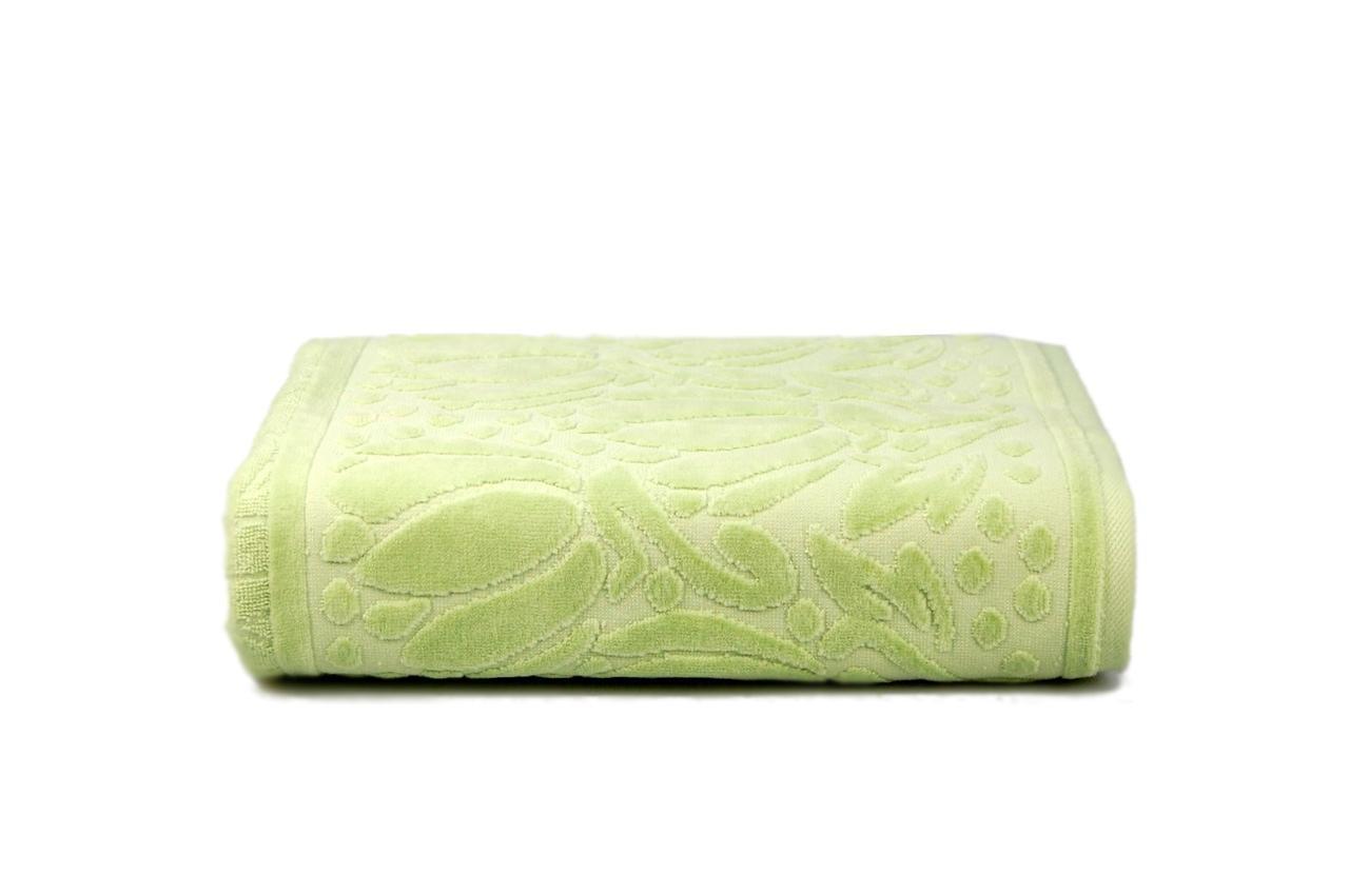 Полотенце махровое Iola (зеленое), 70х140см