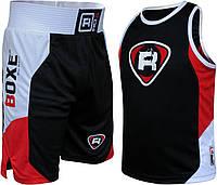 Боксерский комплект RDX black/red XS, фото 1