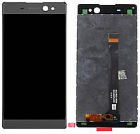 Дисплей (экран) для телефона Sony Xperia XA Ultra Dual F3212, F3216 + Touchscreen Original Grey