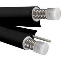 Двойной теплоизолированный трубопровод из нержавеющей стали с проводом под датчик температуры NANOFLEX DN16