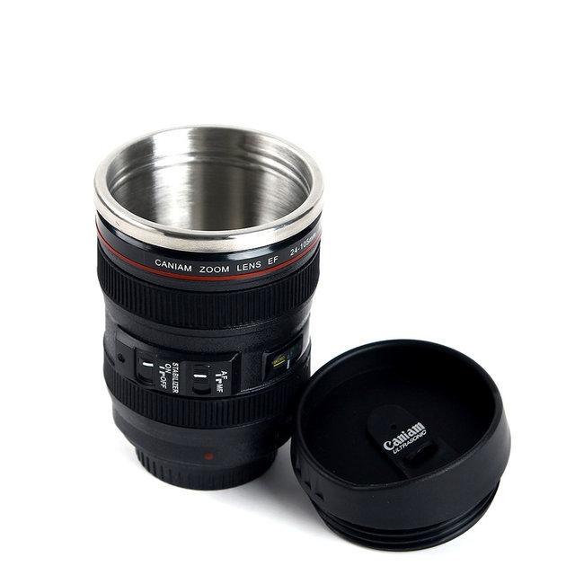 Термокружка, чашка объектив Canon EF 24-105 400ml