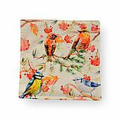 Наволочка декоративная Райские птицы, 42х42 см