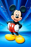 "Картина для рисования камнями Алмазная вышивка ""Микки Маус"""